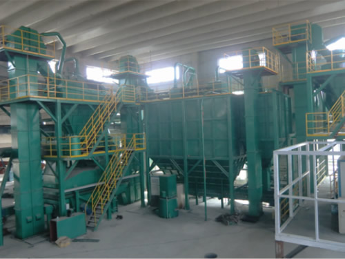 Y95 series clay sand treatment line